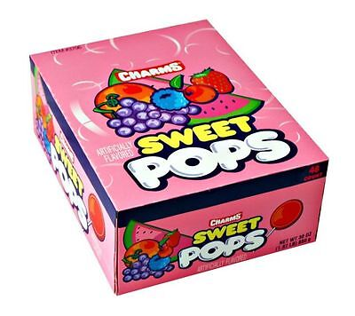 Charms Assorted Sweet Pop Lollipops, Candy, Suckers, Lollipop (Pack of - Charms Suckers