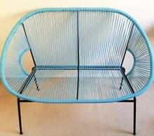 Blue Acapulco 2 Seater Outdoor Sofa Chair Couch Sippy Downs Maroochydore Area Preview