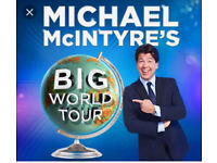 Swap Tickets for Michael McIntyre