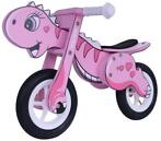 Milly Mally Dino Mini loopfiets 12 Inch Junior Roze