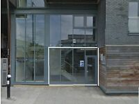 Live work unit ideal for office or showroom in Hackney Wick with potential for live work. 400 sq ft