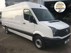 2014 VOLKSWAGEN CRAFTER LWB HIGH ROOF 2.0 CR35 TDI 109BHP, 4.2 METRE LOAD SPACE