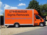 LAST MINUTE MAN WITH VAN HOUSE REMOVAL MOVER MOVING SERVICE DELIVERY LUTON TRUCK HIRE LONG DISTANCE
