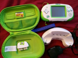 Leapfrog leapster explorer with camera, games
