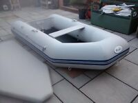DINGHY DINGY WAVE ECO NEW 2016 3 METER 4 MAN WITH 5HP MERCURY 2 STROKE OUTBOARD MOTOR TENDER RIB