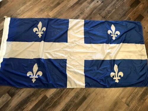 "SCYCO QUEBEC Flag 70"" x 34"" Vintage Scythes & Company Ltd."