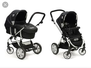Rockstar Baby Stroller with lots of extras