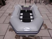 INFLATABLE DINGHY , WAVELINE 230 2.3M , 2014 , DINGY TENDER RIB SIB FISHING BOAT OUTBOARD AVALIBLE