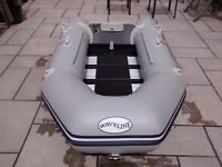 INFLATABLE DINGHY WAVELINE 230 , 2.3 METERS 2014 , TIDY USED DINGY TENDER BOAT , WILL TAKE OUTBOARD