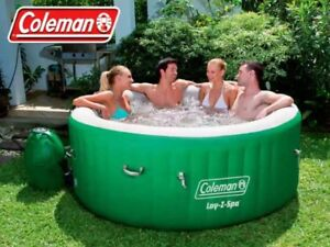 Coleman lazy spa portable hot tub