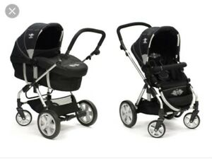 Stroller, bassinet and car seat adapter