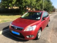 Ford Focus 09 plate 75000 miles