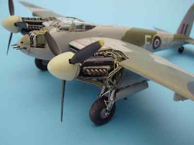 AIRES HOBBY MODELS 4200 MOSQUITO Mk. VI ENGINE ROLLS ROYCE 1/48 RESIN KIT
