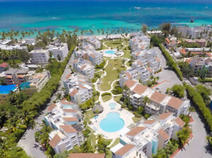 Ocean front apartment rentals in Punta Cana