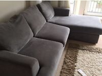 #Price dropped a £100!**DFS Freya 4 seater corner sofa and a Freya 2 seater sofa bed for sale!!! ***