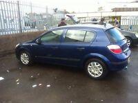 Vauxhall astra life 1.6 twinport 2005
