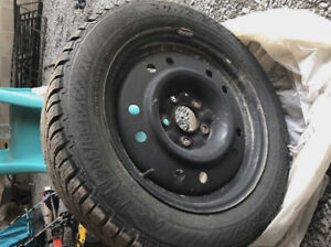 Gislaved winter tire (4) 205/55 R16 T XL only 2 winters