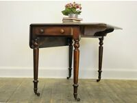 Antique Early Victorian Mahogany Pembroke Table