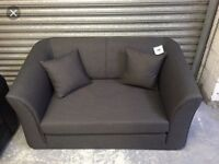 Kenster fold out sofa bed new grey