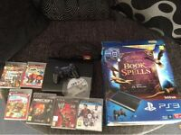 PS3 console ( book of spells ) bundle