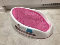 Angelcare Baby Bath Support in Pink