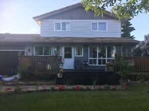 Family home for rent in Berwyn (Peace River area)