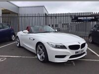 BMW Z4 WHITE RED LEATHER FOR SALE