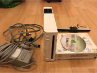 Nintendo wii game console. All leads. 1 controller. 1game. All working