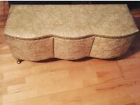 Gold Embroidered Ottoman