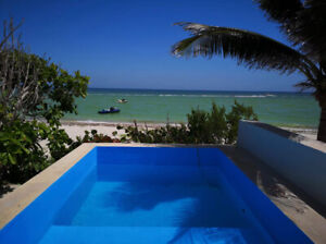 SURPRISINGLY AFFORDABLE OCEANFRONT VIEWS IN YUCATAN RIVIERA
