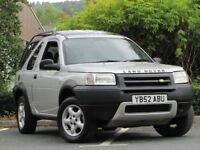 +++Land Rover Freelander 1.8 Serengeti Soft Top 3dr ++NEW SHAPE++SOFT TOP+SUNROOF+