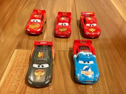 Disney Cars Toy Lightning McQueen Collection 5 pack