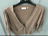 C brown new look cardi 12
