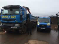 Grab & Go rubbish clearance & grab lorry hire