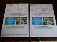 Chessington Tickets Sunday 29th July
