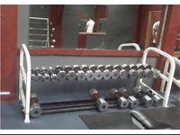 Metal Dumbbells 5kg-40kg