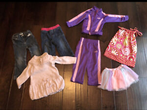 Sf home Girls 2t puma track suit like new plus extras!
