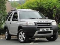 +++Land Rover Freelander 1.8 Serengeti Soft Top 3dr ++NEW SHAPE++SOFT TOP+SUNROOF+