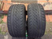 Toledo 225 35 ZR19 Tyres 7mm Thread x2