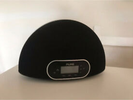 PURE Contour Speaker Dock for iPod and iPhone with DAB and AUX. Good condition
