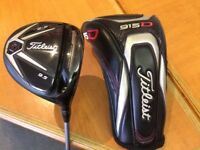 GENUINE TITLEIST 915 D3 9.5 DEGREES, TITANIUM DRIVER.