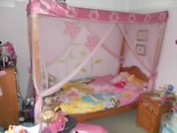 Child's Princess Four Poster Bed