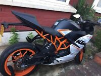 KTM RC 390 for sale! 2015 clean good condition