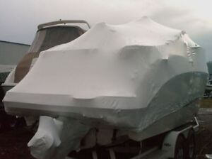 Shrinking Wrapping In/Outdoor Vehicle Stg, Trailers Boats Rvs Kitchener / Waterloo Kitchener Area image 3