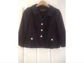Fenn Wright jacket size 8 navy