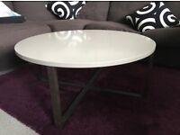 Coffee Table Ikea Rissana beige