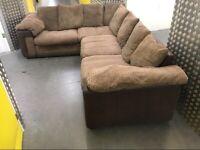 L shape corner sofa •free delivery
