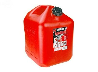 14295 Rotary Red 5 Gallon Gas Can Midwest Can W Quick-flow Spout
