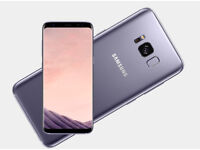 Samsung Glaxy S8 Orchid Grey Unlocked Sealed Mobile smart phone