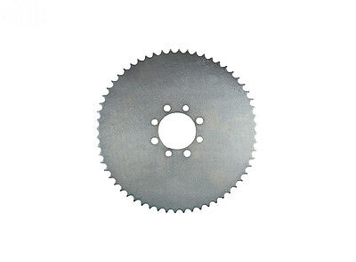 """Universal 60 Tooth Steel Plate Sprocket 41 Chain 10"""" OD 2-1/8"""" ID (8249)"""